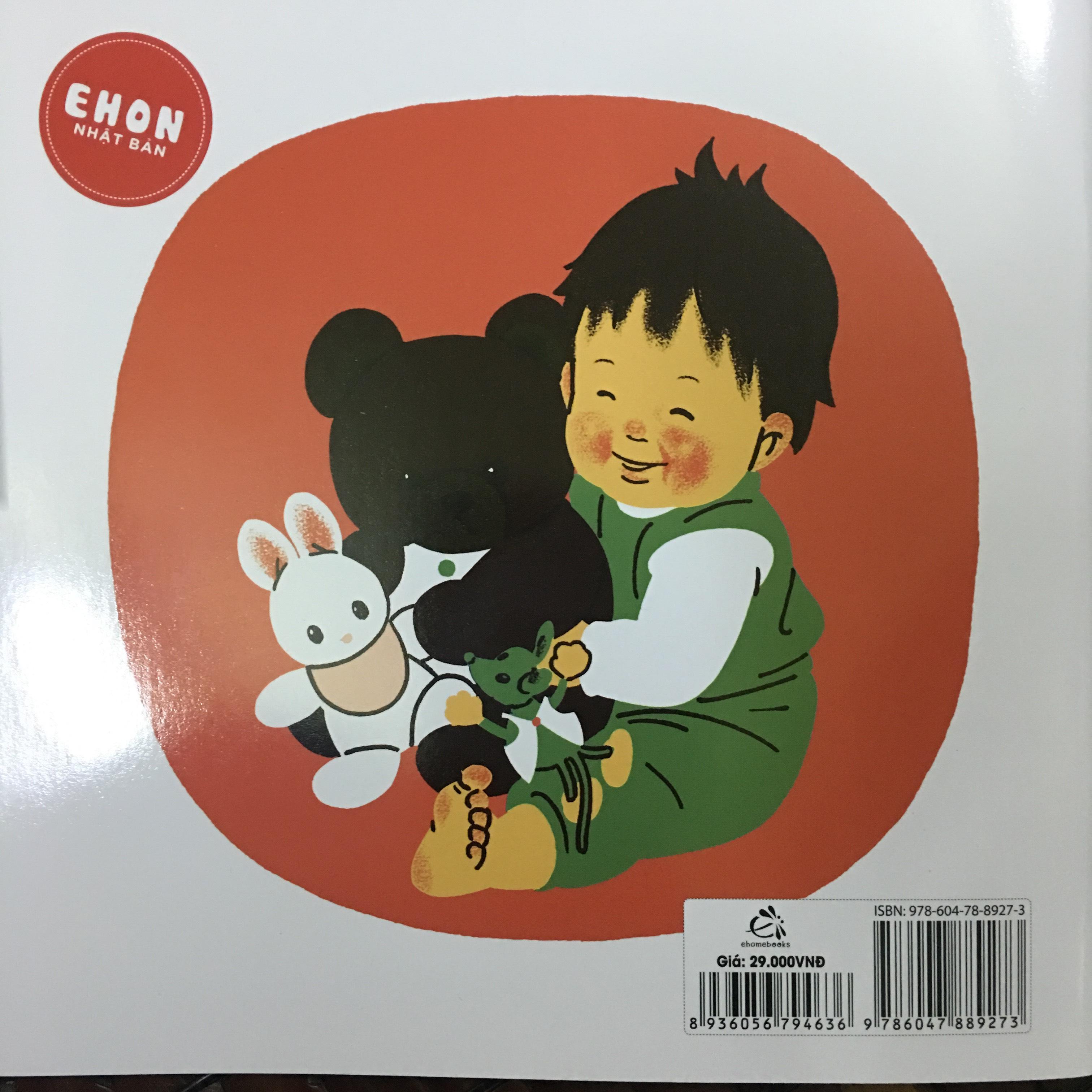 Combo Ehon Nhật Bản 4 cuốn (Tay xinh/ Giày nhỏ/ Chào mặt trăng/ Cùng lau)Tái bản 2019+ tặng kèm 1 vỉ nơ hình xinh ngẫu nhiên