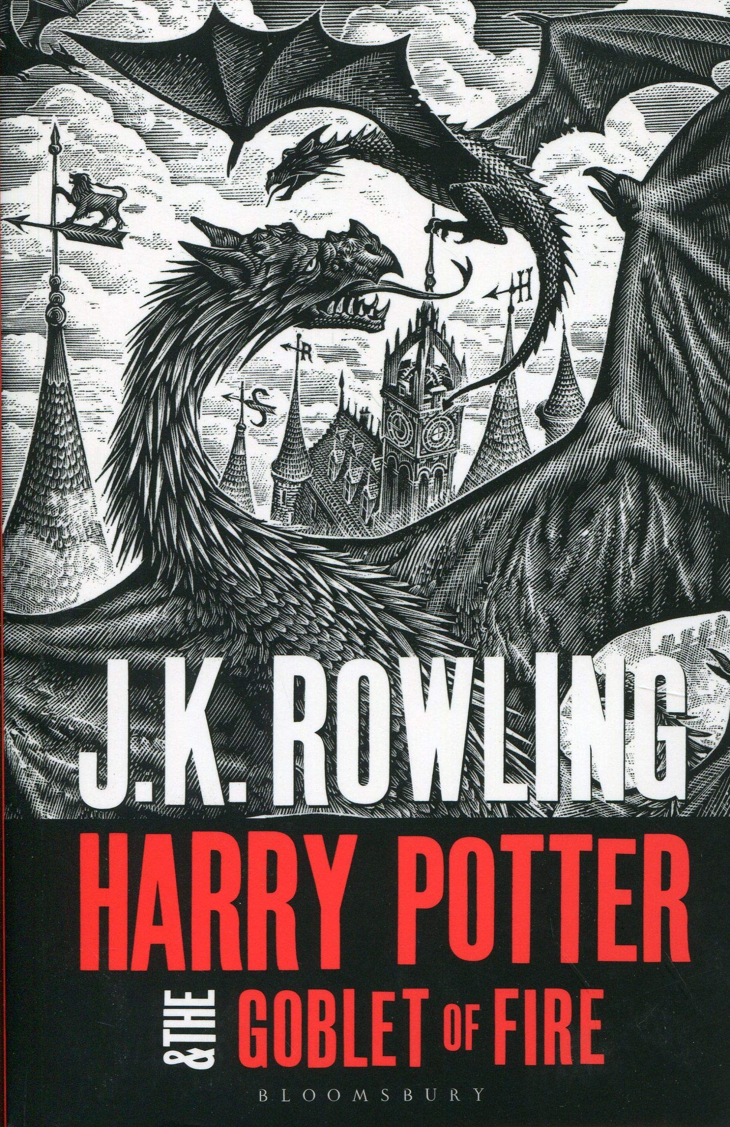 Harry Potter and the Goblet of Fire (English Book)