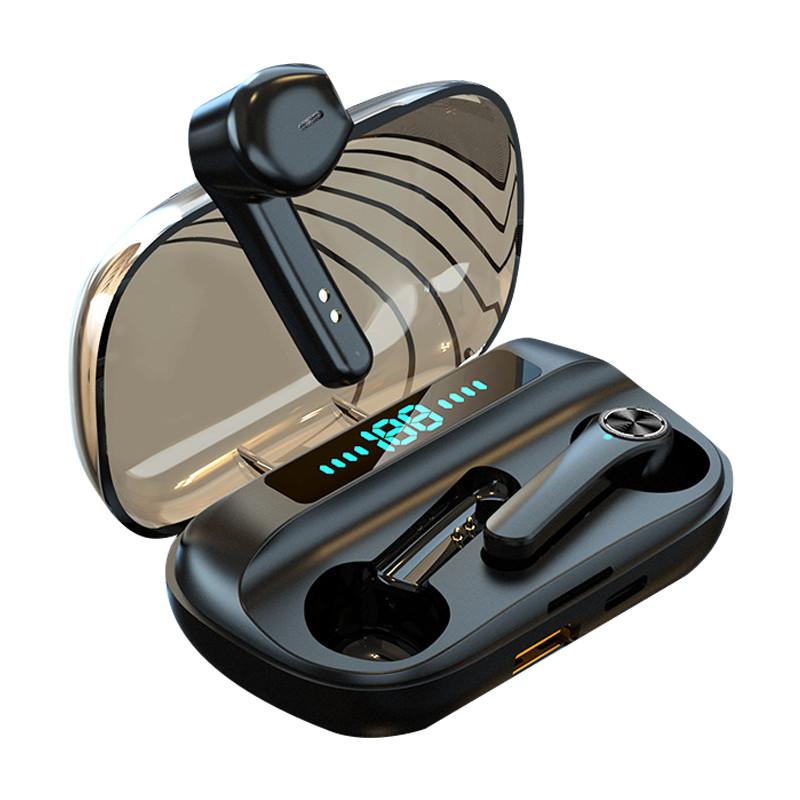 Tai nghe Tai Nghe True Wireless Bluetooth Không dây PKCB - Hàng Chính Hãng