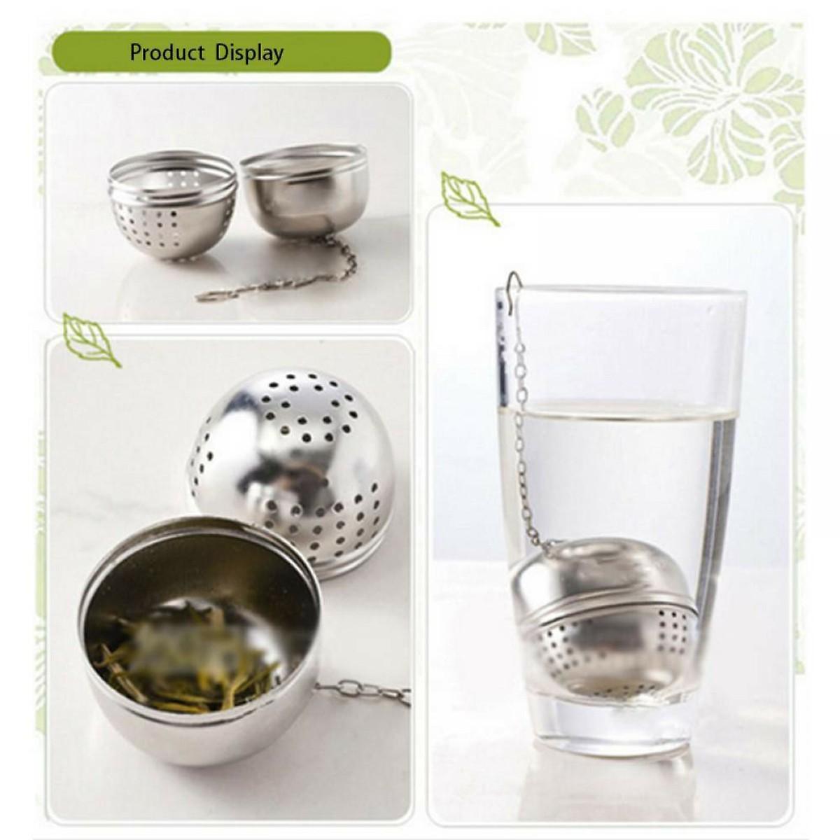 Combo 2 Dụng cụ lọc trà bằng inox