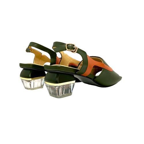 Sandal gót vuông nữ Calila JM JSD20003