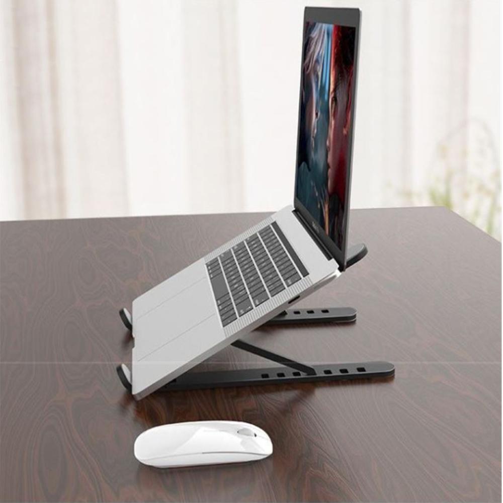 Giá đỡ Laptop Stadaz chịu lực tốt có thể gấp gọn tặng kèm túi đựng tiện lợi - Hàng chính hãng