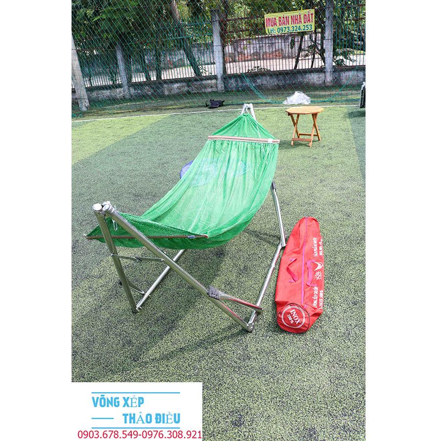 Khung Võng xếp Inox VIP lưới dày và mềm