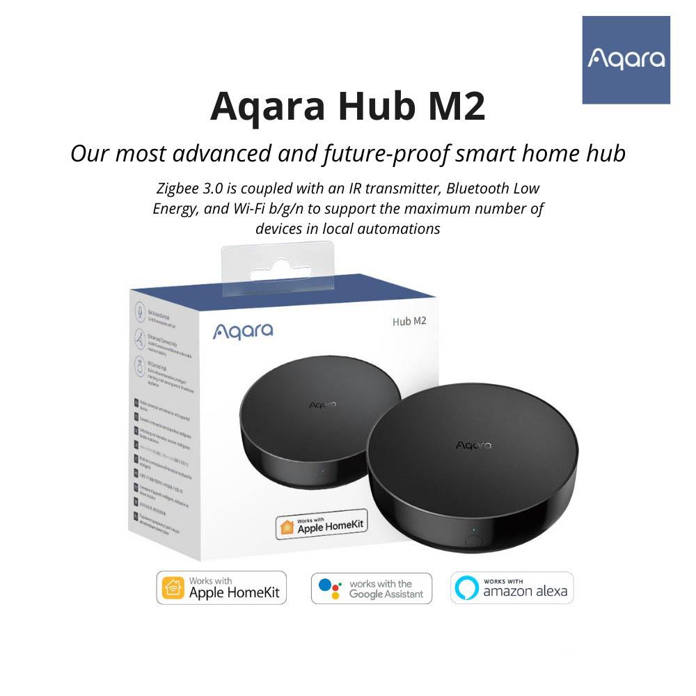 Aqara Hub M2 Smart Zigbee 3.0 và Bluetooth Hồng ngoại - Bản Quốc Tế - Hàng Chính Hãng