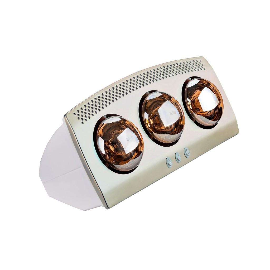 Đèn sưởi nhà tắm 3 bóng Tiross TS9292 (Model 2021) hàng chính hãng