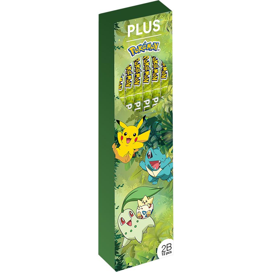 Hộp 12 Cây Bút chì Pokemon PLUS