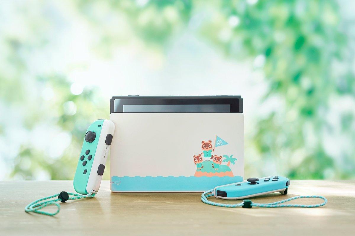 Máy Game Nintendo Switch Animal Crossing  : New Horizons Special Edition - Hàng Nhập Khẩu