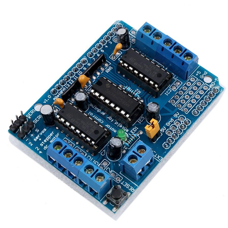 Module Điều Khiển Động Cơ L293D