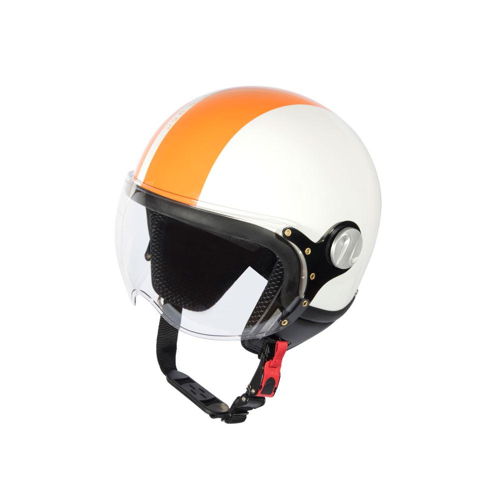 Mũ Bảo Hiểm Andes 3/4 Đầu Có Kính - 3S103D Tem Bóng W204