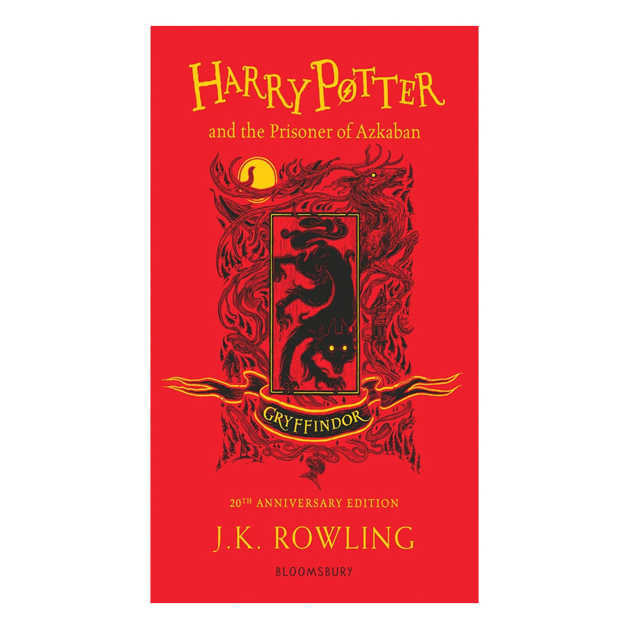 Harry Potter and the Prisoner of Azkaban Gryffindor Edition Paperback English Book