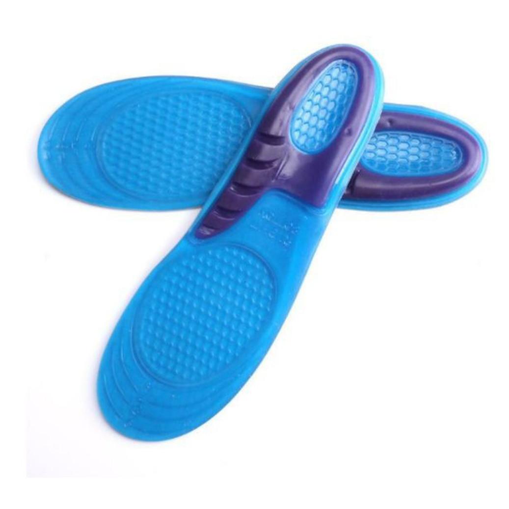Lót giày thể thao Silicon chuyên dụng êm chân giảm chấn cực tốt - PHÙ HỢP CHƠI: Bóng rổ, Cầu lông, Chạy bộ, xe đạp...các môn thể thao khác