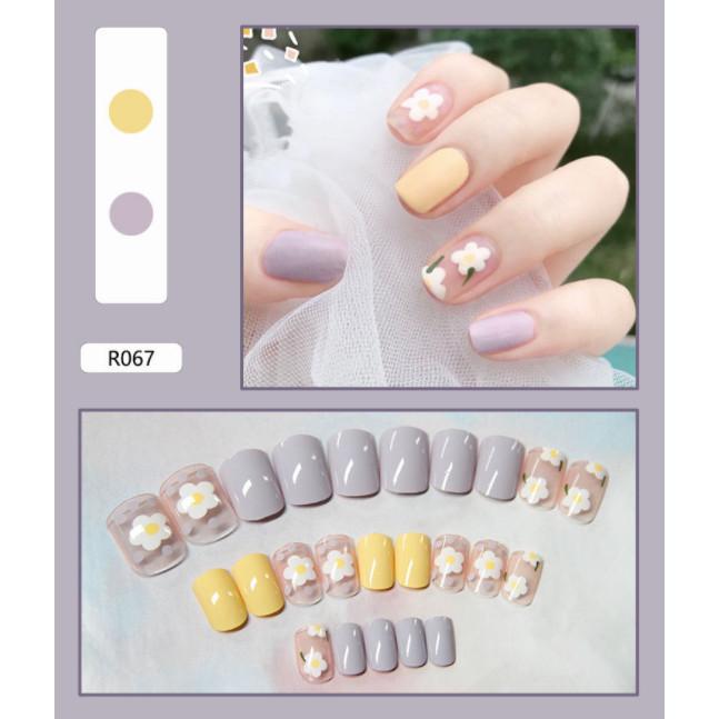 Bộ 24 móng tay giả nail thơi trang (như hình-R-067)