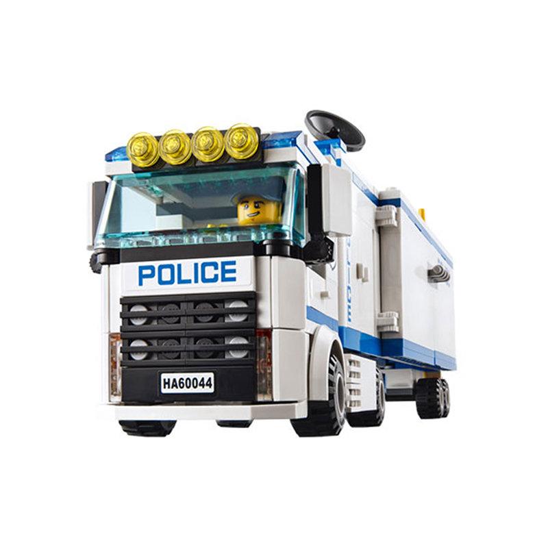 Bộ lắp ráp city cities mô hình trạm cảnh sát lưu động của cảnh sát
