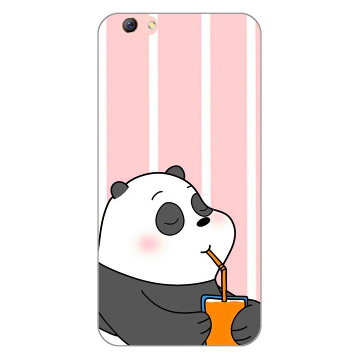 Ốp lưng dẻo cho điện thoại Oppo F3 Plus 0399 PANDA06