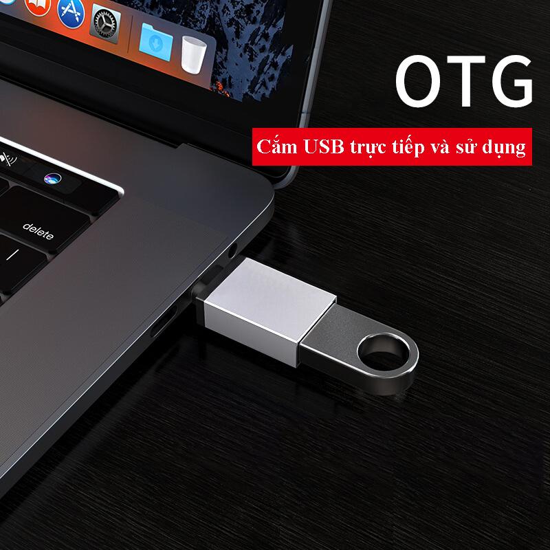 Đầu Chuyển Đổi USB Type C Sang USB 3.0 Hàng Chính Hãng Helios
