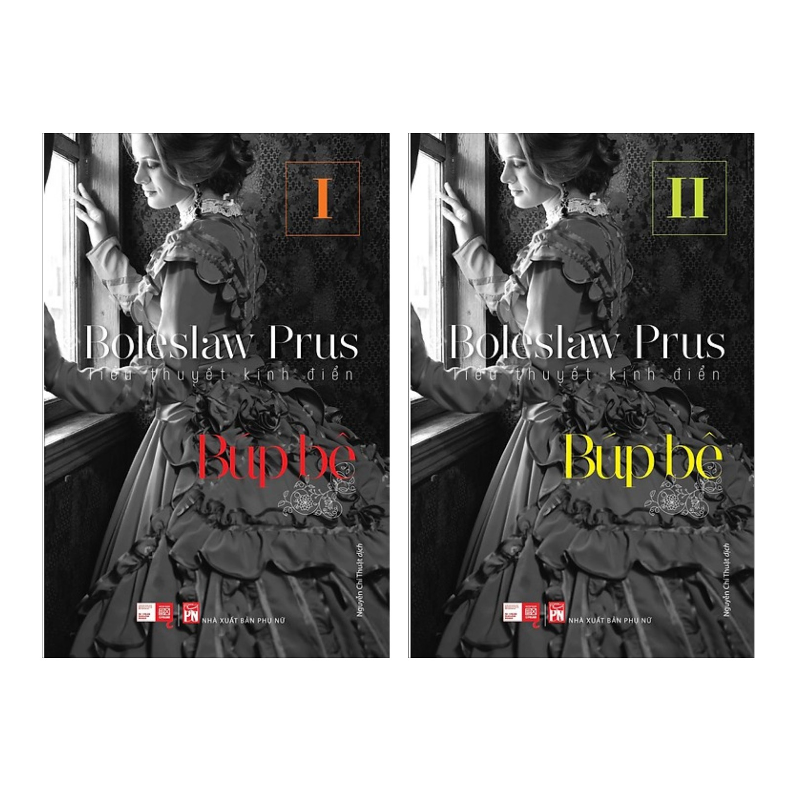 Combo Tiểu Thuyết Kinh Điển - Búp Bê I Và II (Bộ 2 Tập) (Tặng kèm Bookmark thiết kế)