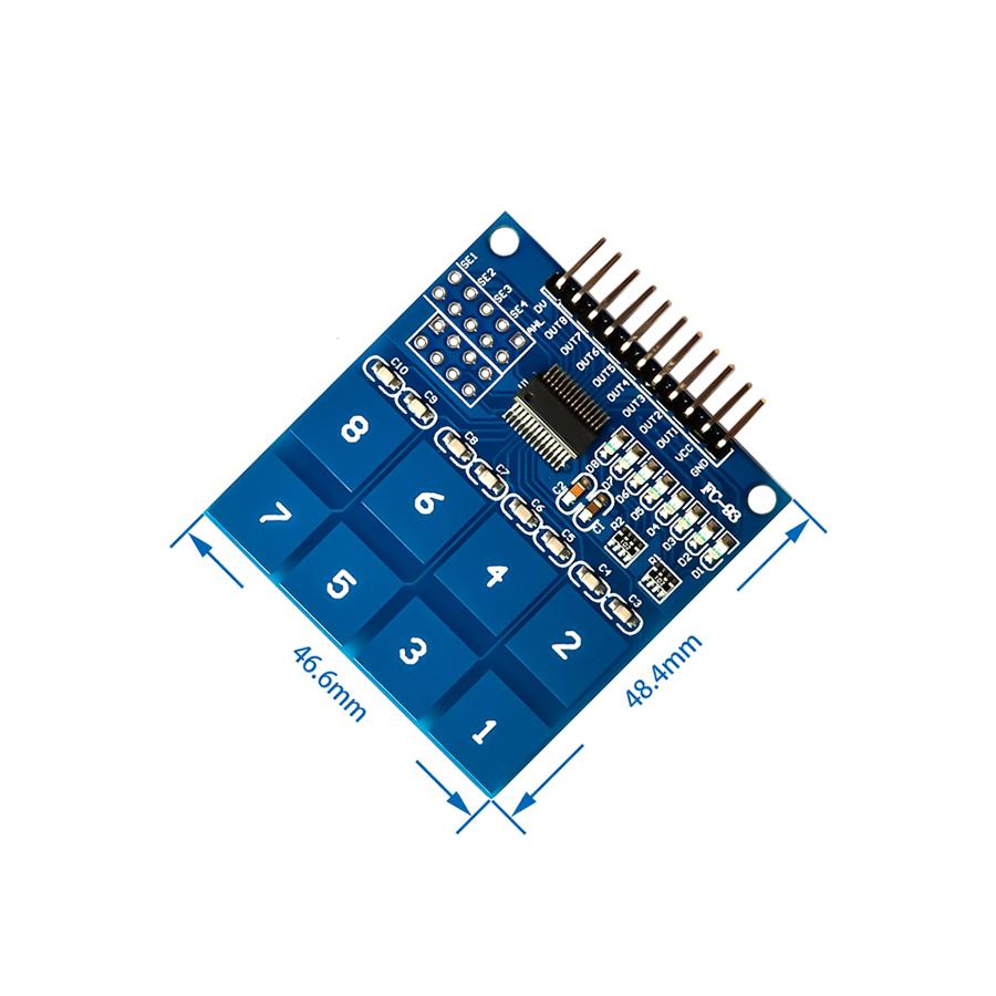 Module Cảm Biến Chạm TTP226 8 Phím