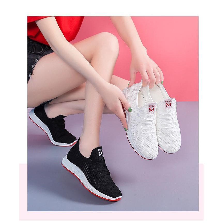 Giày vải thoáng khí kiểu dáng thời trang cho nữ - MH97