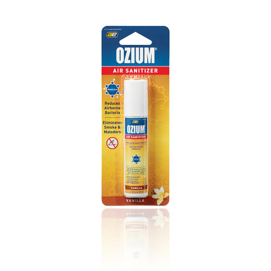 Bình xịt khử mùi Ozium Air Sanitizer Spray 0.8 oz (22.6g) Vanilla/OZ-23-1pack