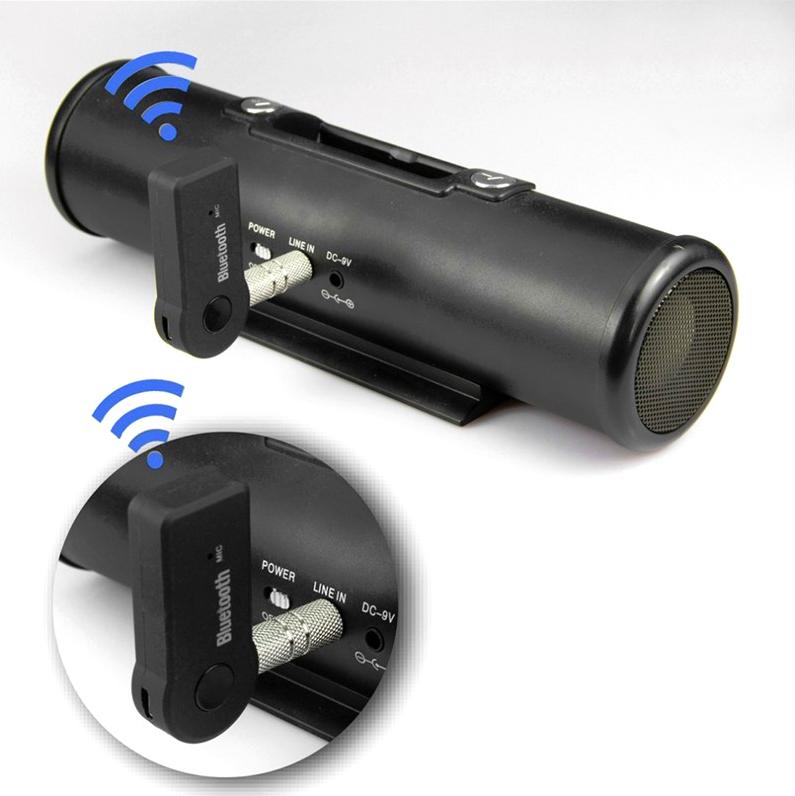 USB bluetooth hỗ trợ kết nối cho xe hơi, loa, âm ly, tai nghe BTR-302 - Hàng Nhập Khẩu
