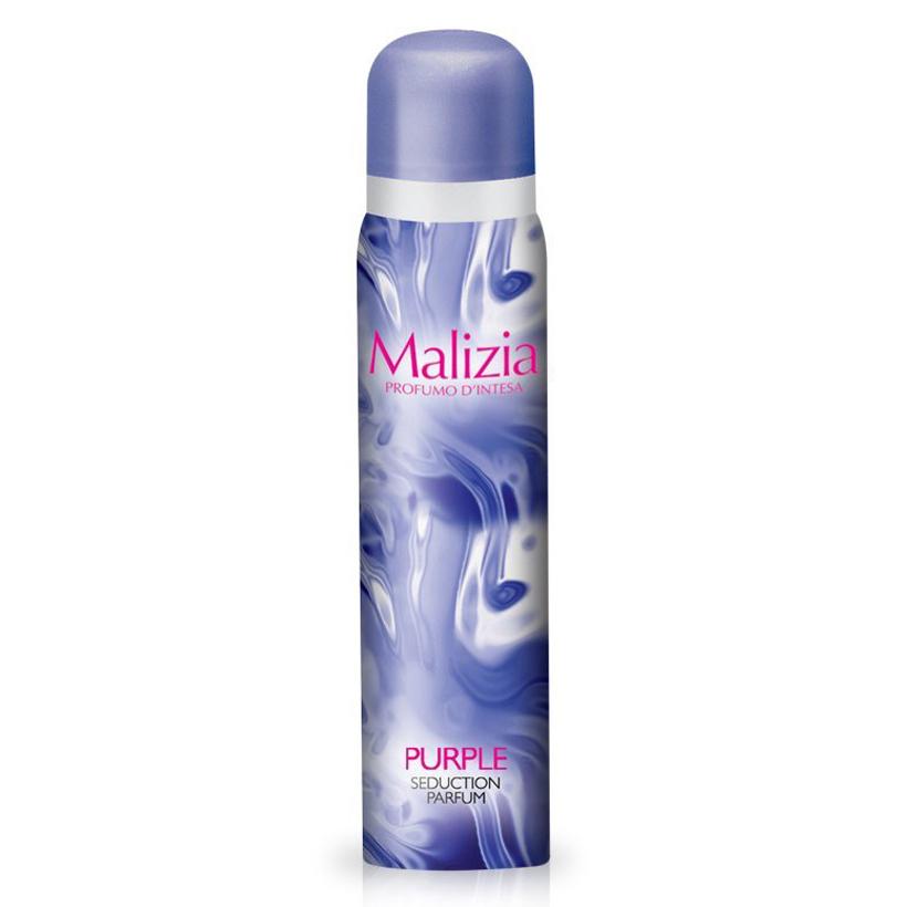 Nước hoa toàn thân Malizia Purple Seduction Parfum 100ml  tặng kèm móc khóa