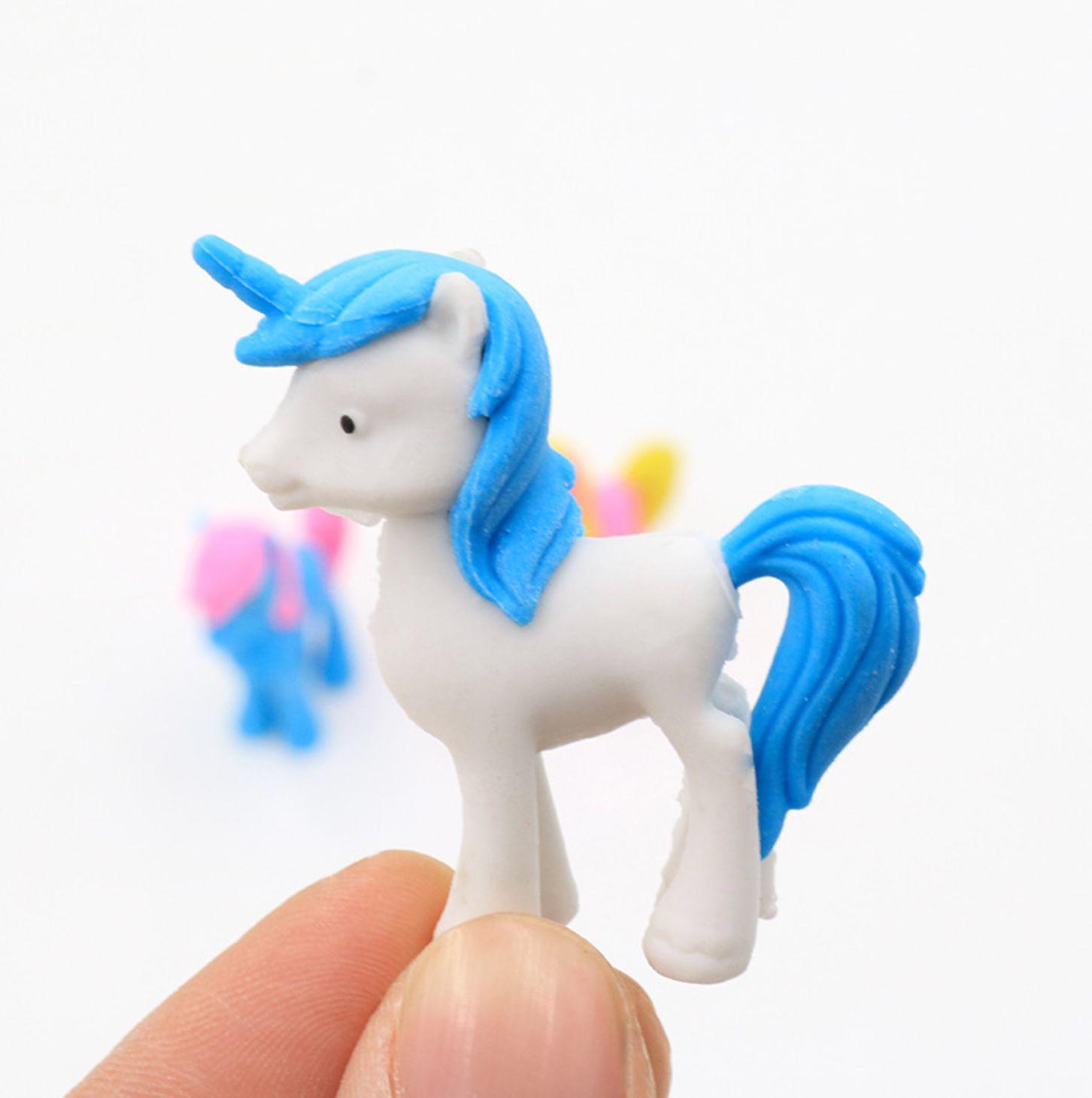 [COMBO 3 Chiếc] Cục Tẩy Hình Ngựa Thiên Đàng Siêu Dễ Thương Cho Bé - Màu ngẫu nhiên