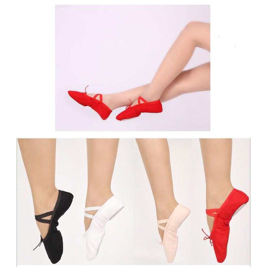 Giày múa ba lê (ballet ) cho bé gái 2 - 12 tuổi