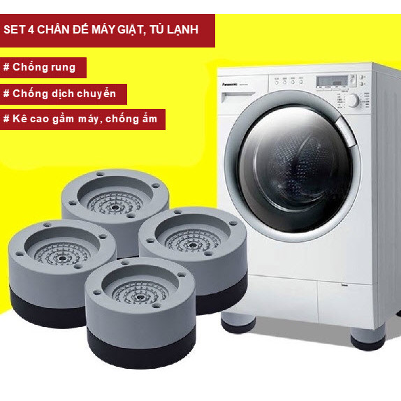 Chân đế để máy giặt, tủ lạnh chống rung, chống ồn
