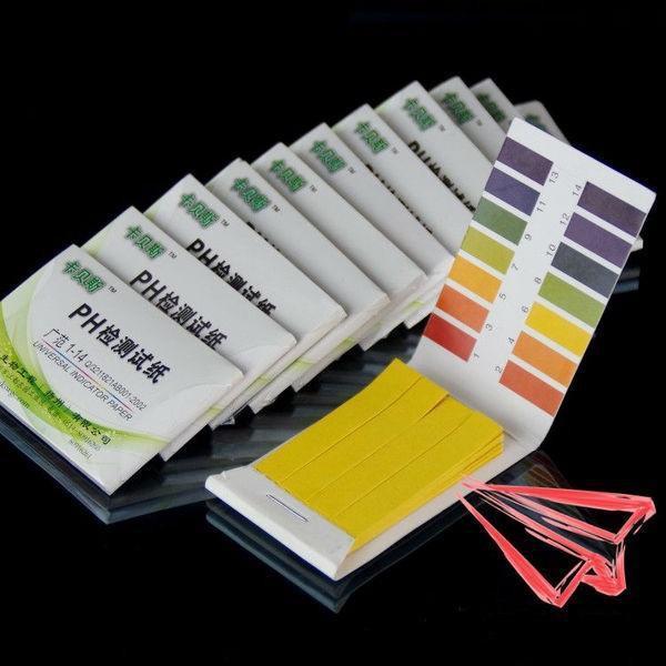 Combo 5 tệp giấy quỳ đo ph chính xác cao 1-14, 80 miếng thử/tệp