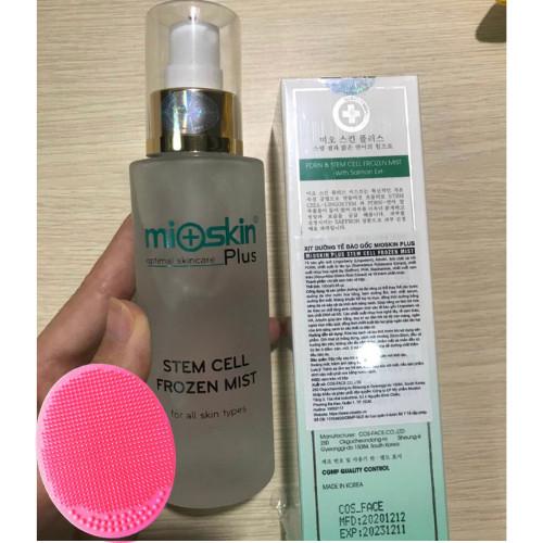 Combo 2 Chai Xịt dưỡng tế bào gốc Mioskin Plus, Tặng Kèm Miếng Pad Rửa Mặt Ngẫu Nhiên