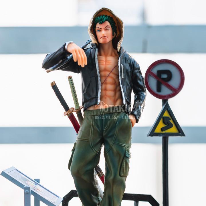 Mô Hình Figure Zoro Street Style - One Piece