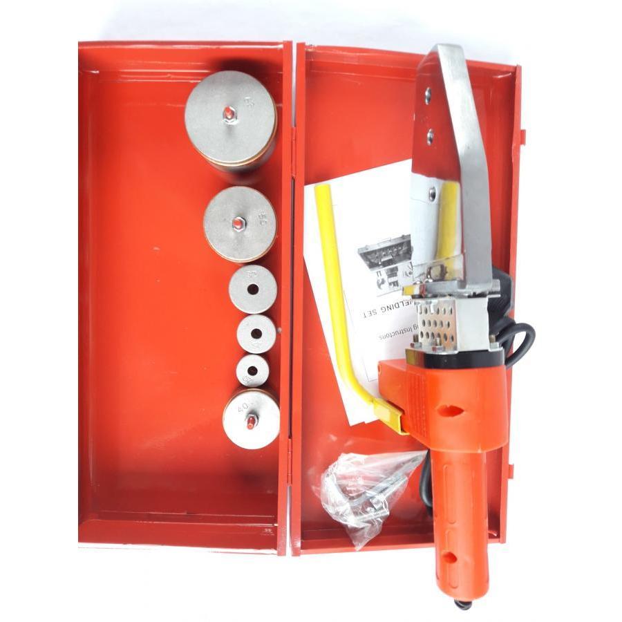 Máy hàn nhiệt PPR đỏ tự động, đầu hàn 20 đến 63mm