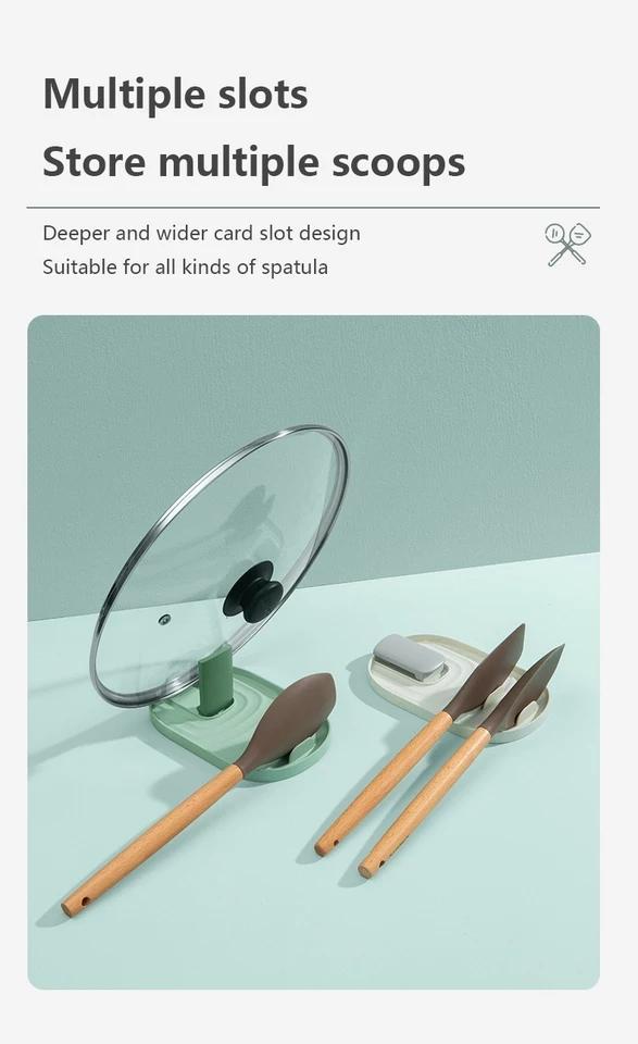 Giá đỡ đa năng , giá đỡ thông minh,  để nắp nồi , thìa đũa sử dụng trong nhà bếp