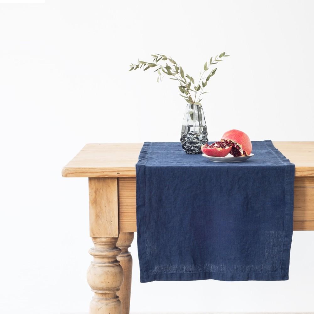 Khăn trải bàn cao cấp Linen Tales. chất liệu vải linen