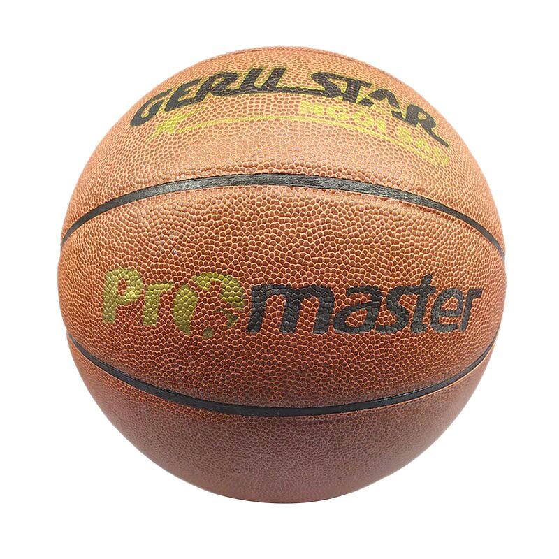 Bóng rổ PU Gerustar Size 7 Promaster - Dán (Tặng Băng dán thể thao + Kim bơm + Lưới đựng)