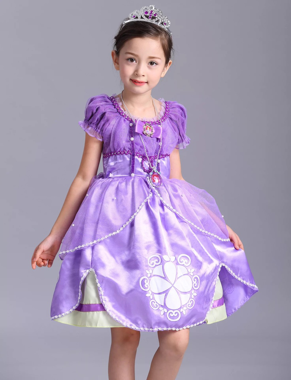 Đầm Công Chúa Sofia Cho Bé Gái - HME09