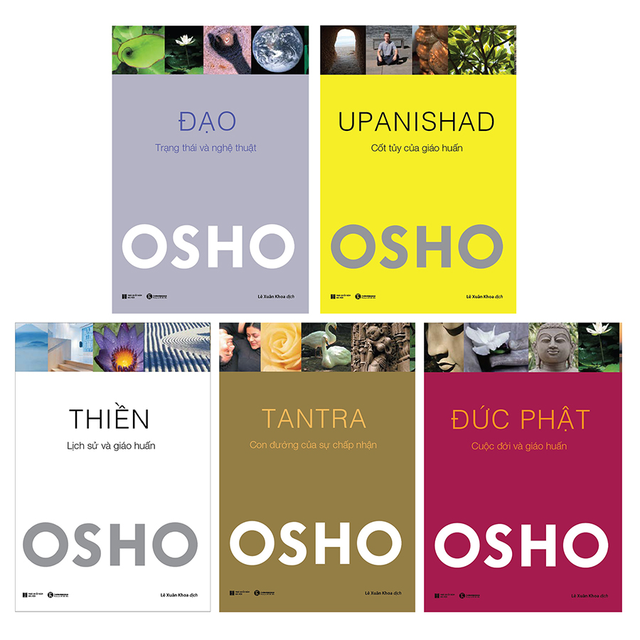 Combo Tác Giả Osho (5 cuốn)
