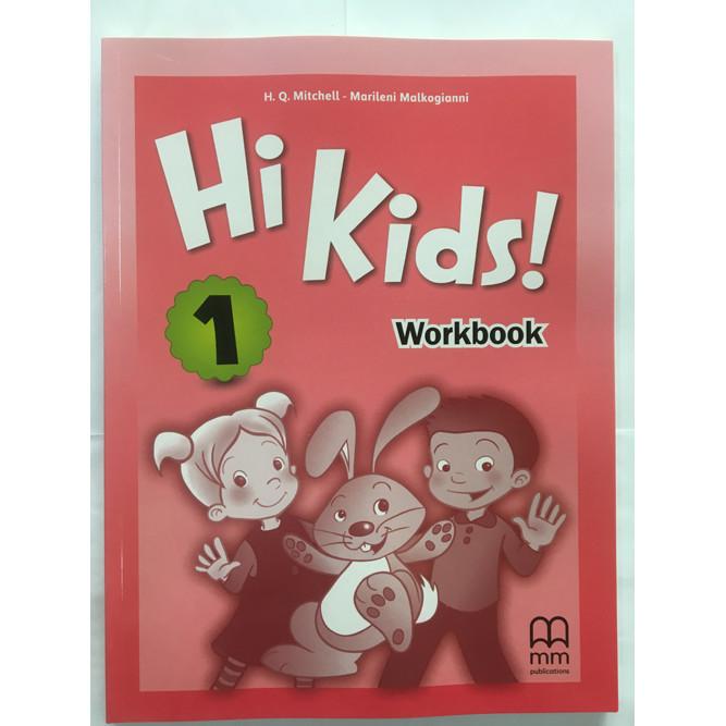 MM Publications: Sách học tiếng Anh - Hi Kids 1 (Brit.) (Workbook)