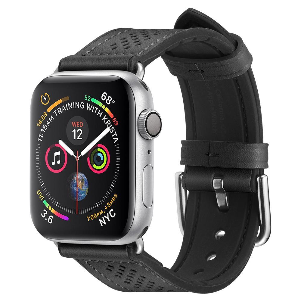 Dây Da Hybrid SPIGEN Watch Band Retro Fit cho Apple Watch Series 1/2/3/4/5 _ Hàng Chính Hãng