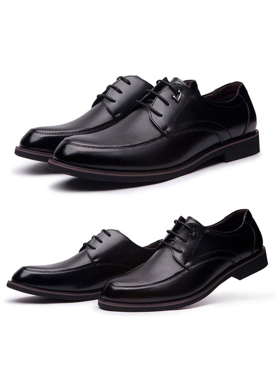 Giày da công sở big size, giày tây nam big size cỡ lớn 44 45 46 47 48 cho chân to - GT020