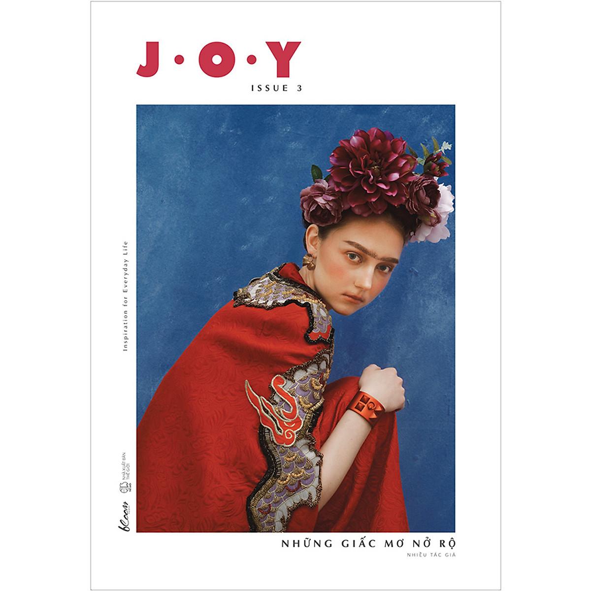 Combo 4 Cuốn Sách: J.O.Y – Issue 1: Lấp Lánh + J.O.Y – Issue 2: Người Kể Chuyện Tình + J.O.Y - Issue 3: Những Giấc Mơ Nở Rộ + J.O.Y - Issue 4: Chuyến Du Hành Ngược Thời Gian