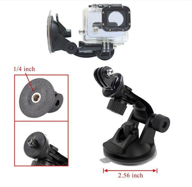 Giá Đỡ Camera Hành Trình Gopro Hero Gắn Xe Ô Tô