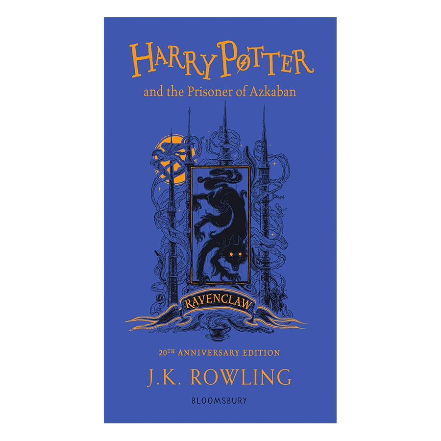 Harry Potter and the Prisoner of Azkaban Ravenclaw Edition Paperback English Book