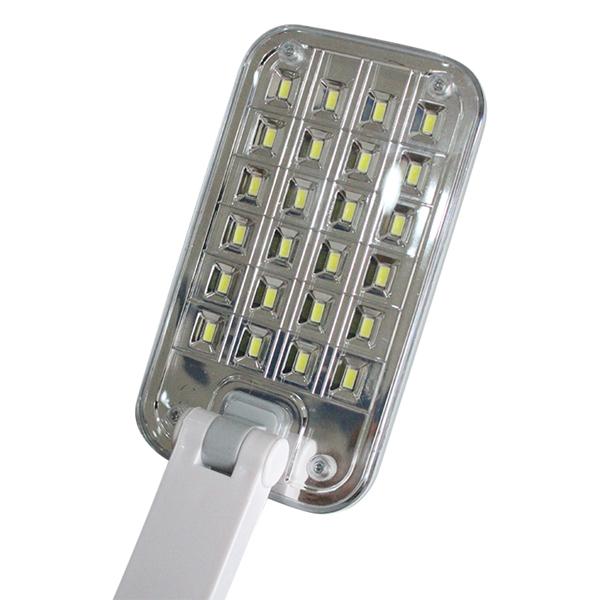 Đèn LED Để Bàn Tích Điện Suntek KM-6669C + Tặng Kèm Đèn Ngủ Cảm Biến Ánh Sáng KM-S5203