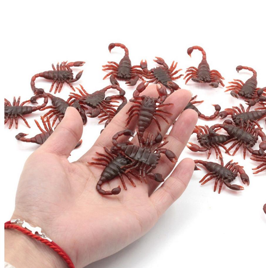 [COMBO 3 sản phẩm] Mô hình con bọ cạp độc đáo - Đồ trang trí, quà tặng cho bé - Kích thước 4.5cm, chất liệu mềm an toàn thân thiện