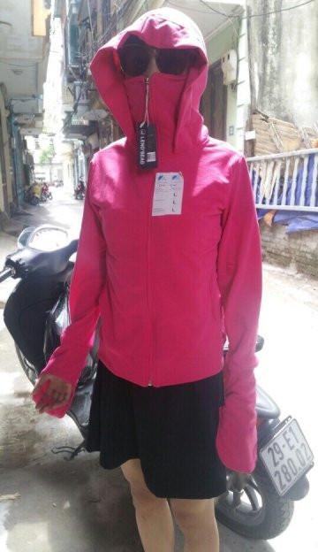Áo khoác chống nắng thoát nhiệt LS, áo chống nắng 100% cotton thoáng mát, thấm hút mồ hôi