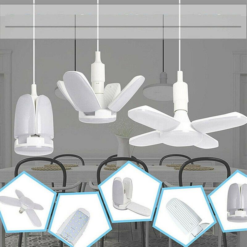 Bóng đèn led hình quạt - Bóng led hình quạt 4 cánh công suất 60W ánh sáng trắng - tiết kiệm điện