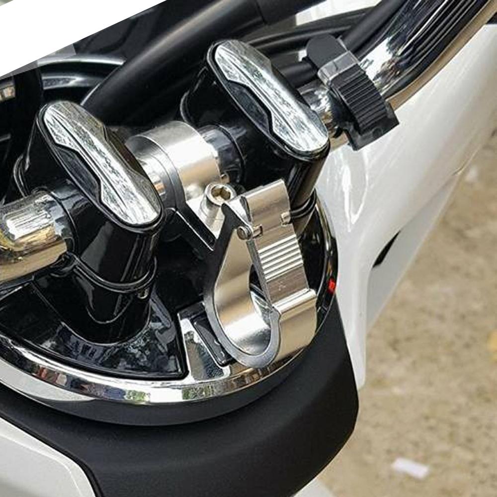 01 Móc Treo Đồ Nhôm Dành Cho Honda PCX + Tặng 01 Móc Gắng Chìa Khóa Xe Ngẫu Nhiên