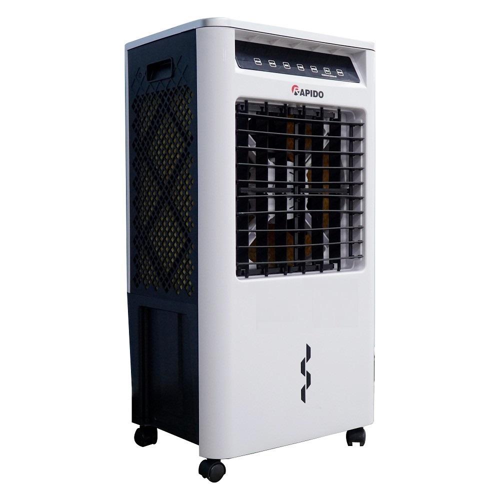 Quạt điều hòa không khí RAPIDO FRESH 3000-D 3.000m3/h Công suất 40W tặng kèm 2 đá khô Hàng chính hãng