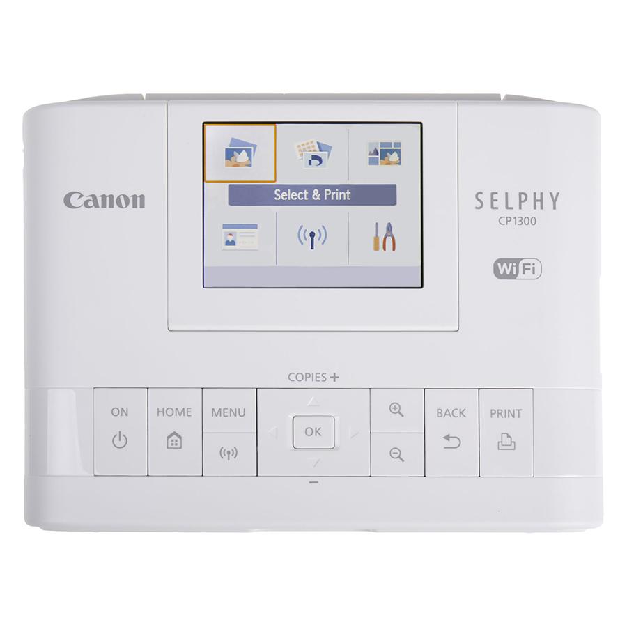 Máy In Canon Selphy CP1300 (Trắng) - Hàng Chính Hãng
